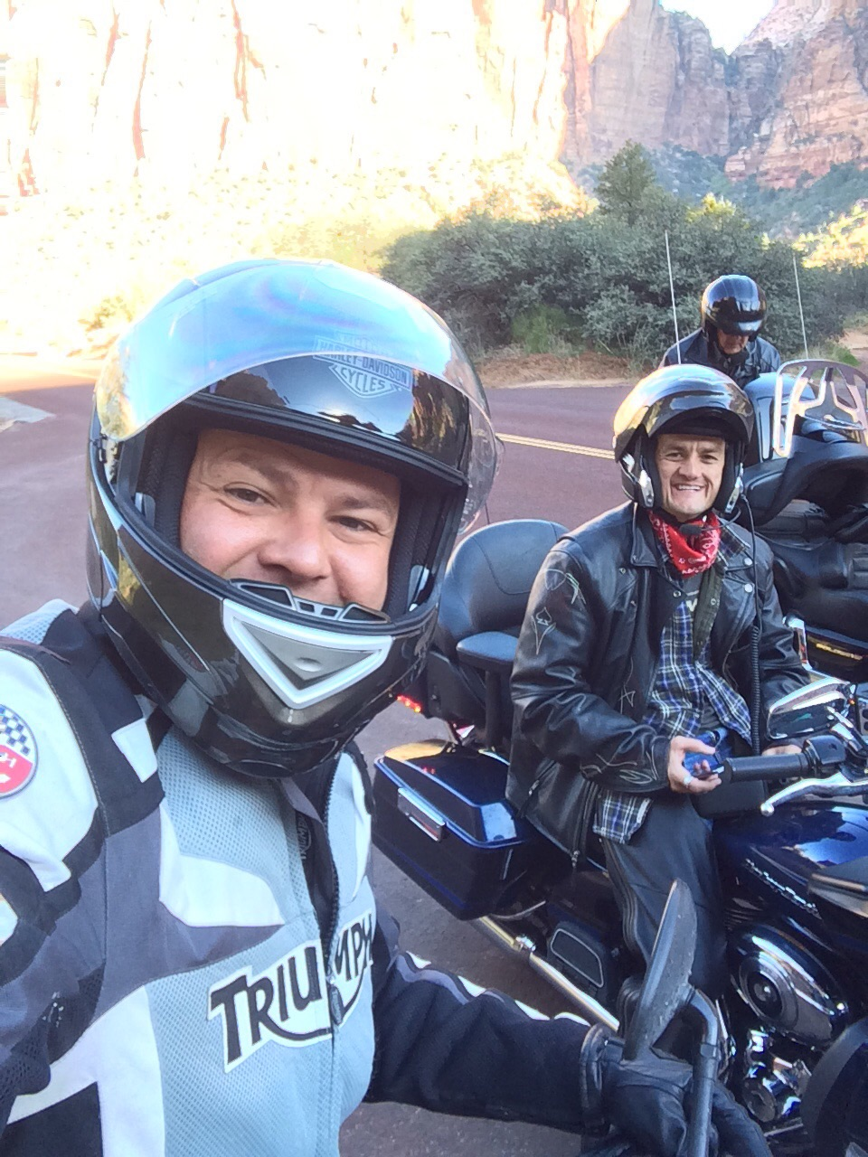 Gary Fales motorcycle trip to Bryce Canyon